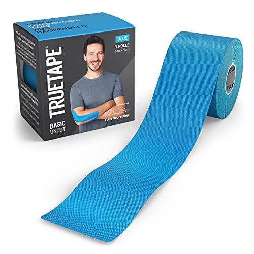 TRUETAPE® Basic - Kinesiotape | 5m x 5cm Rolle | wasserfestes &...