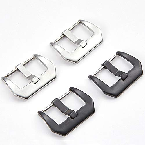 Hardware Teile Schnalle Metallbügel-Schnalle schwarz gebürstetem...