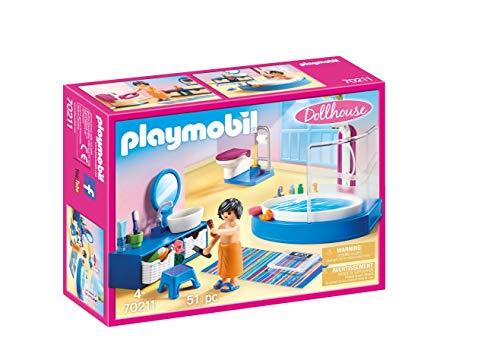 PLAYMOBIL Dollhouse 70211 Badezimmer, ab 4 Jahren