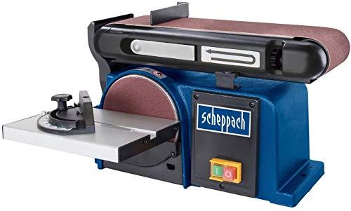 Scheppach Band-Tellerschleifer BTS 900 (Schleifmaschine mit 370W,...