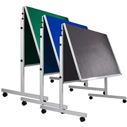 Moderationstafel Filz | klappbar | mit Rollen | 120x150cm | Farbe...