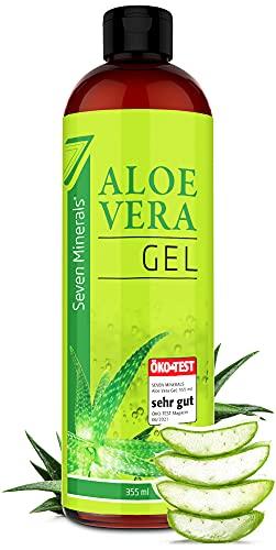 Aloe Vera Gel 99% Bio, 355 ml - ÖKO-TEST Sehr Gut - 100% Natürlich,...