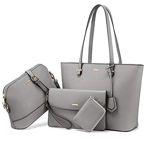 LOVEVOOK Handtasche Damen Schultertasche Handtaschen Tragetasche Damen...