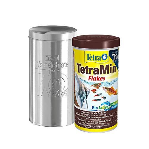 Tetra TetraMin Flakes 1L - Fischfutter in Flockenform in der 70 Jahre...