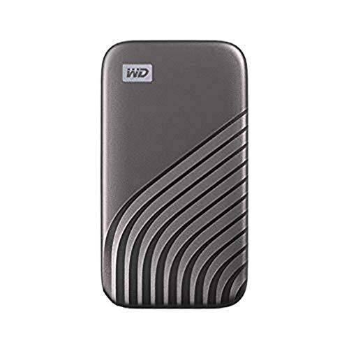 WD My Passport SSD 2 TB mobiler SSD Speicher (NVMe-Technologie, USB-C...
