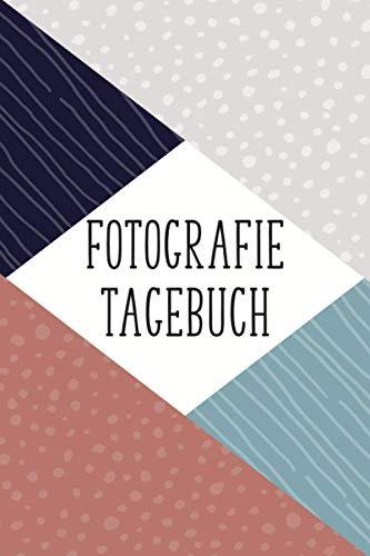 Fotografie Tagebuch: Vorgedruckte Seiten um Kamera Einstellungen,...