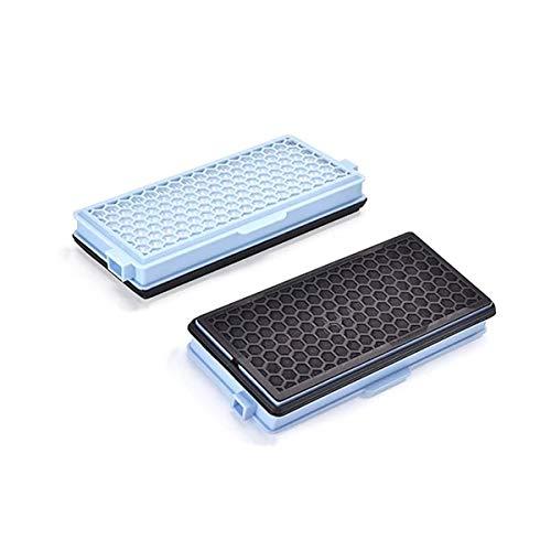 2x CleanMonster HEPA Filter komp. zu Miele SF-HA 50 Staubsaugerfilter...