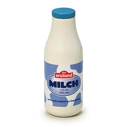 Erzi 17150 Milchflasche aus Holz, Kaufladenartikel für Kinder,...