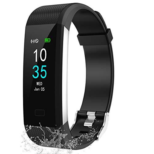 LEBEXY Fitness Armband Schrittzähler, Fitness Tracker mit...