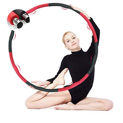 SHULAN Hula Fitness Reifen für Erwachsene1.5,Hoola Hoop Reifen...