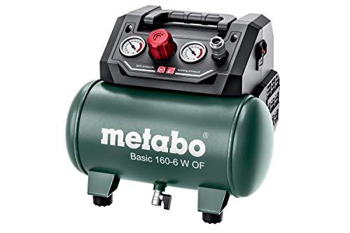 Metabo Kompressor Basic 160-6 W OF (Kessel 6 l, Max. Druck 8 bar,...