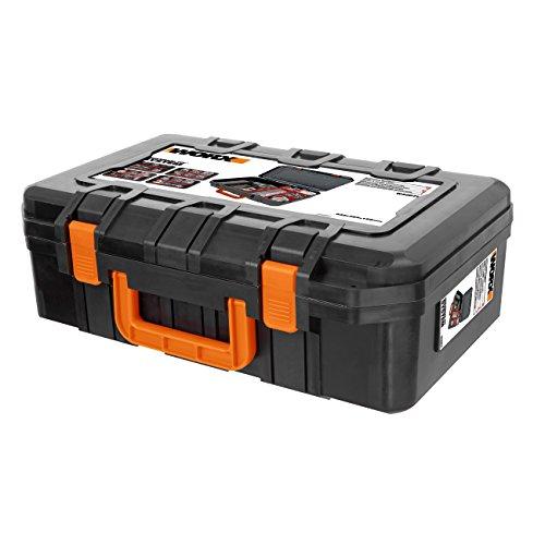 Worx WA0071 Werkzeugkoffer aus robustem Kunststoff - für Das sichere...