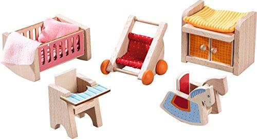 HABA 301989' Little Friends-Puppenhaus-Möbel Kinderzimmer