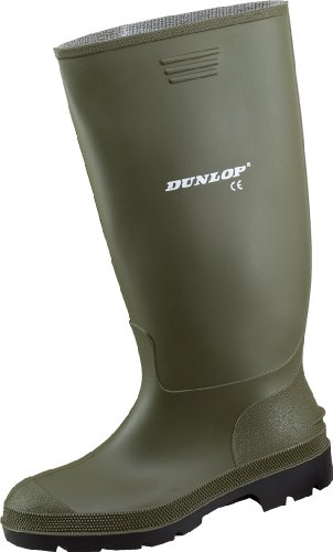 Dunlop Herren Stiefel, Grün, 43 EU