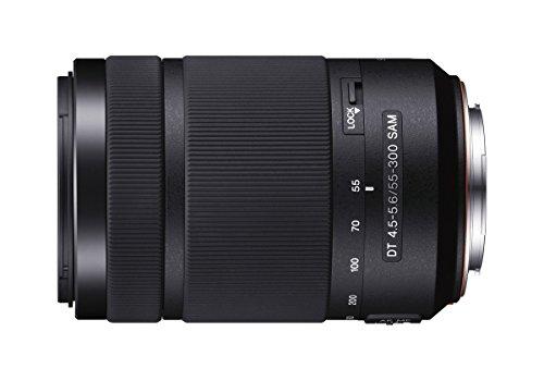 Sony SAL-55300 Tele-Zoom Objektiv (DT SAM, 55-300 mm, F4,5-5,6, APS-C,...