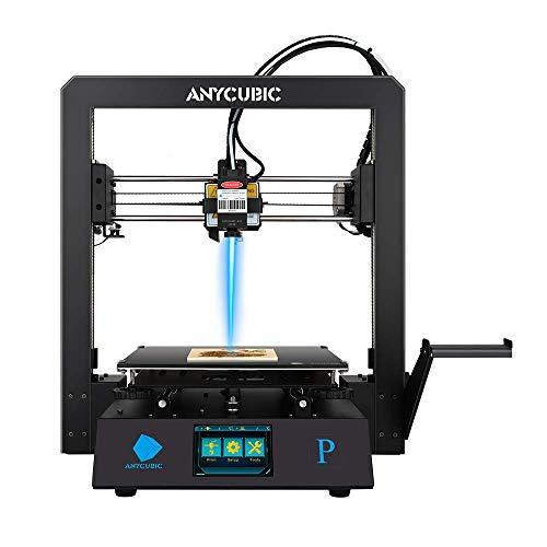 ANYCUBIC Mega Pro FDM 3D-Drucker mit 3D-Druck & Lasergravur 2 in 1 ,...