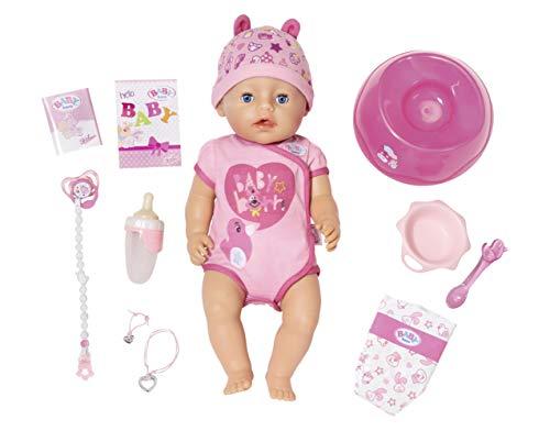 BABY born Soft Touch Girl Puppe mit lebensechten Funktionen und viel...