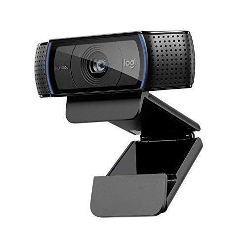 Logitech C920 HD PRO Webcam, Full-HD 1080p, 78° Sichtfeld, Autofokus,...