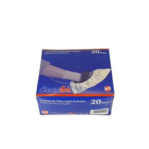 HaWe 251.94 Überziehschuh aus Polyethylen 20 Stück in weiß