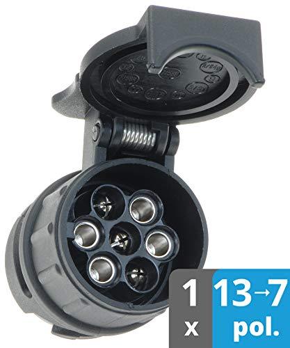valonic Anhänger Adapter   13 auf 7 polig   schwarz   Auto zu Hänger...