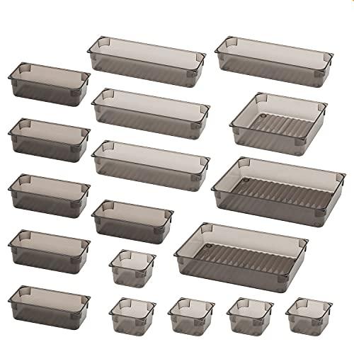 18 Stücke Schubladen Ordnungssystem, 5 Größen Schubladen Organizer,...