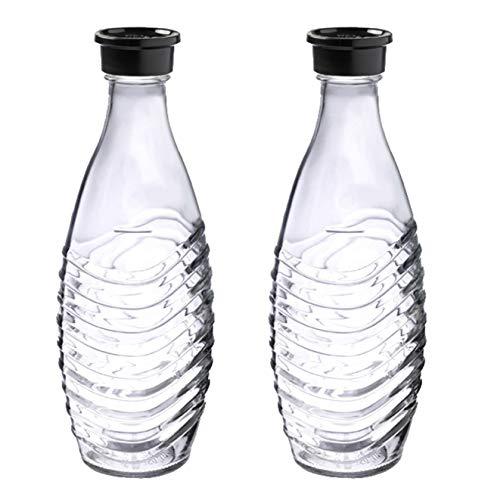 SodaStream DuoPack Glaskaraffe, Ersatzflaschen geeignet für die...