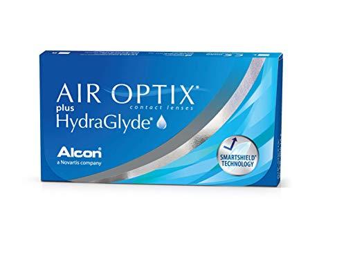 Air Optix HydraGlyde Monatslinsen weich, 6 Stück / BC 8.6mm / DIA...