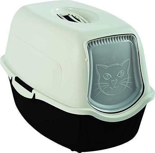 Rotho Bailey Katzenklo mit Haube und Klappe, Kunststoff (PP) BPA-frei,...