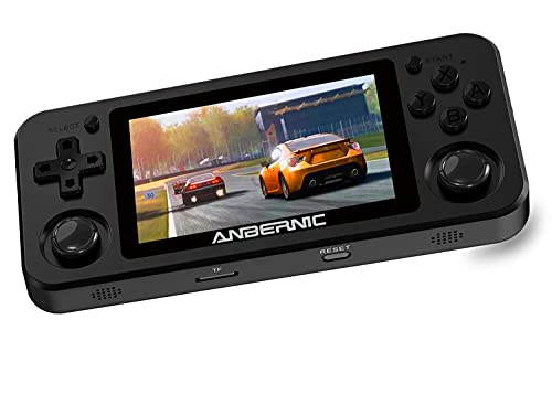 Anbernic RG351M Handheld Spielkonsole WiFi, Retro Spielekonsole mit...