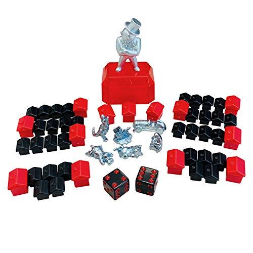 Monopoly Hasbro 765E9972000 - Parker Zubehör Set mit Spielfiguren,...