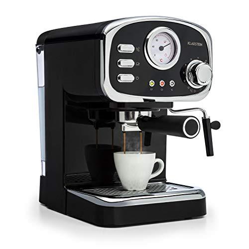 Klarstein Espressionata Gusto Espressomaschine, 1100 Watt, 15 Bar...