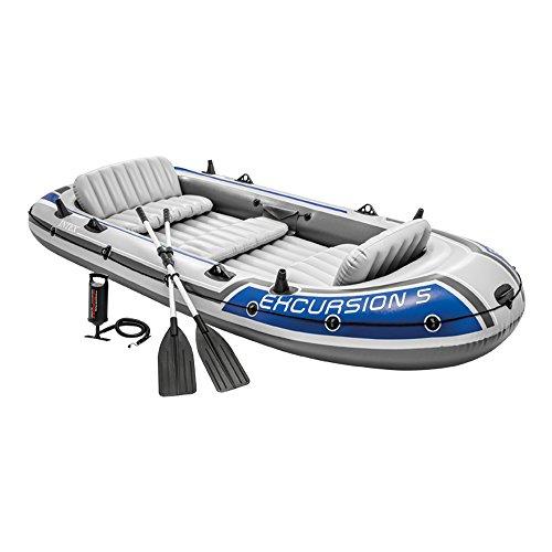 Intex Excursion 5 Set Schlauchboot - 366 x 168 x 43 cm - 4-teilig -...