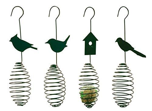 Esschert Design Futterfeder, Vogelfutter-Spirale, Halterung für...