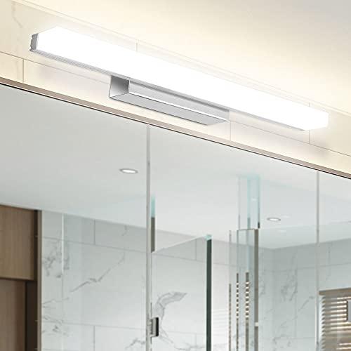 LED Spiegelleuchte, Infankey 40CM Dimmbar Spiegelleuchte Bad mit...