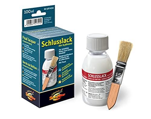 Schipper 605180721 Malen nach Zahlen, Schlusslack klar und glänzend,...