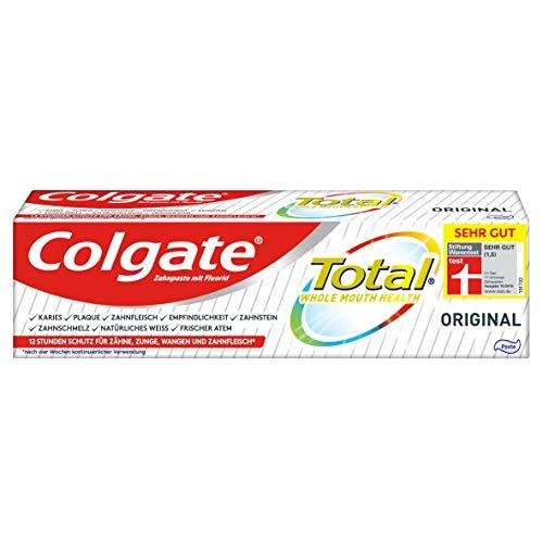 Colgate Total Zahnpasta Original, 1 x 75ml - Zahncreme gegen Karies...