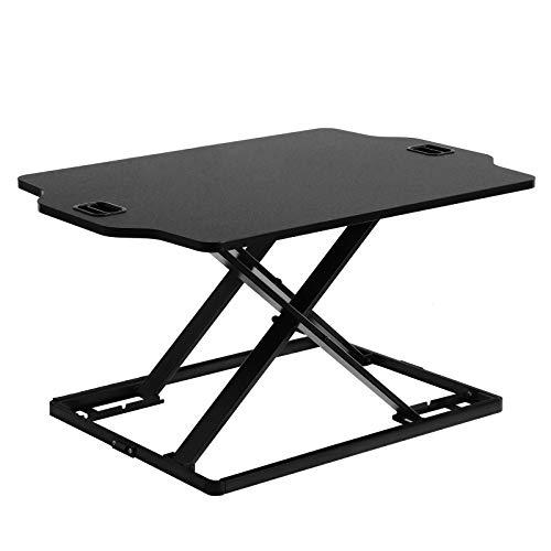 SONGMICS Sitz-Steh-Schreibtisch Höhenverstellbarer...
