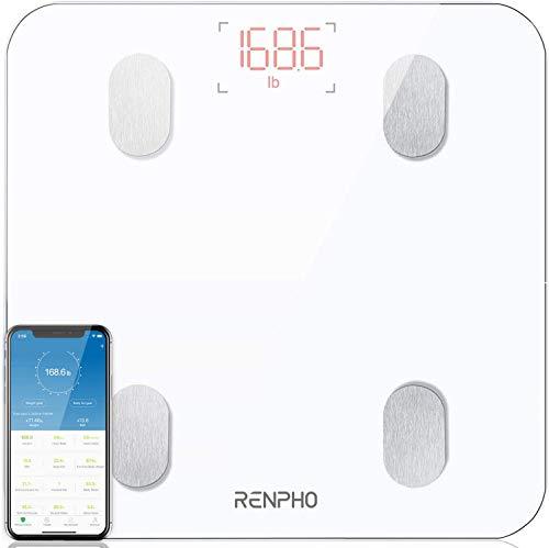RENPHO Körperfettwaage, Bluetooth Personenwaage mit App, Smart...