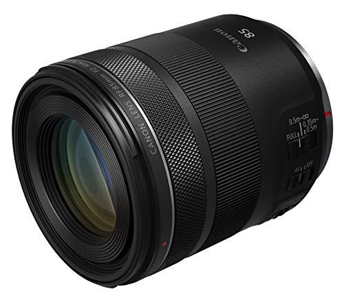Canon Objektiv RF 85mm F2 - Macro IS STM - Porträtobjektiv für EOS R...