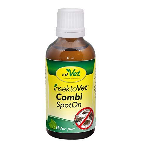 cdVet InsektoVet Combi SpotOn Anti-Insekten Pflegemittel für Tiere 50...
