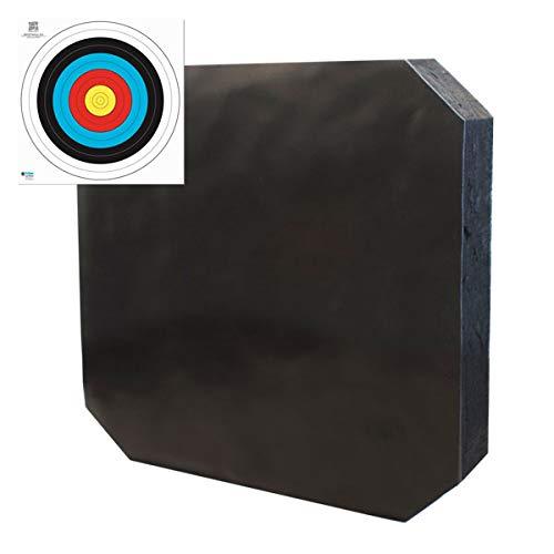 YATE Bogenschießen XXL Zielscheibe Polimix R 80cm x 80cm x 10cm bis...