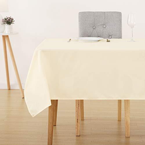 Deconovo Tischdecke Wasserabweisend Tischwäsche Lotuseffekt...
