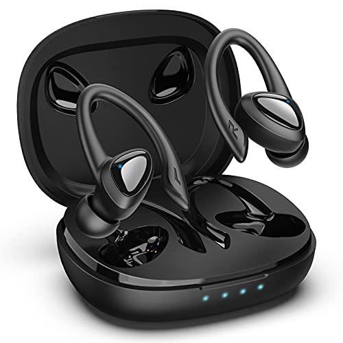 GLANDU Bluetooth Headphones Wireless Earbuds Sports Earphones with...
