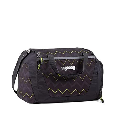 ergobag Unisex-Kinder Duffel Bag Tasche Mehrfarbig (Horsepowbear)