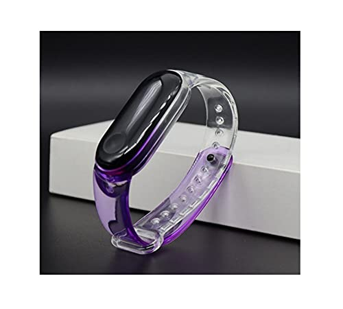 YQSBYI Transparent Smart Armband Armband Weiche Geleefarbband für...