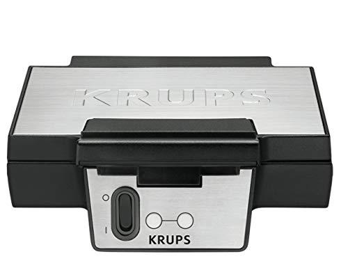 Krups Waffeleisen FDK251 | Doppelwaffeleisen | 2 Belgische Waffeln...