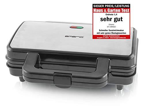 Emerio ST-109562, XXL Sandwichtoaster für alle Toastgrößen...