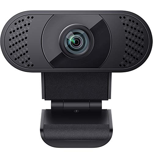 wansview Webcam 1080P mit Mikrofon, Webcam USB 2.0 Plug und Play für...