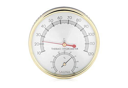 Bader Wellness® 2 in 1 Sauna Thermometer Hygrometer,...