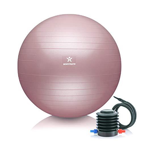BODYMATE Gymnastikball Sitzball Trainingsball mit GRATIS E-Book inkl....